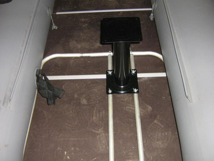 сделать стул для резиновой лодки