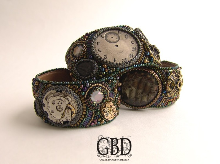 колье и браслеты steampunk (Фото 4)