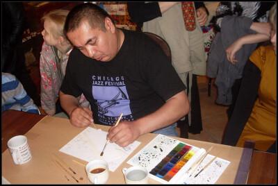 Улугбек Мухамедов. Мастеркласс акварельной техники «чёрный чай»