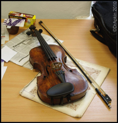 Репетиция оркестра.