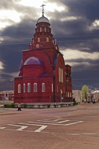 Владимир: Троицкая церковь.