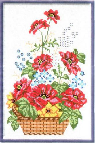 Схемы для вышивания. Цветы