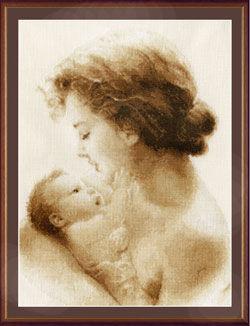 """Схемы для вышивки крестом на тему """"Материнство. Детство"""""""