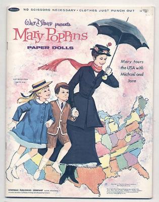 Бумажные куклы. Персонажи детских книг.