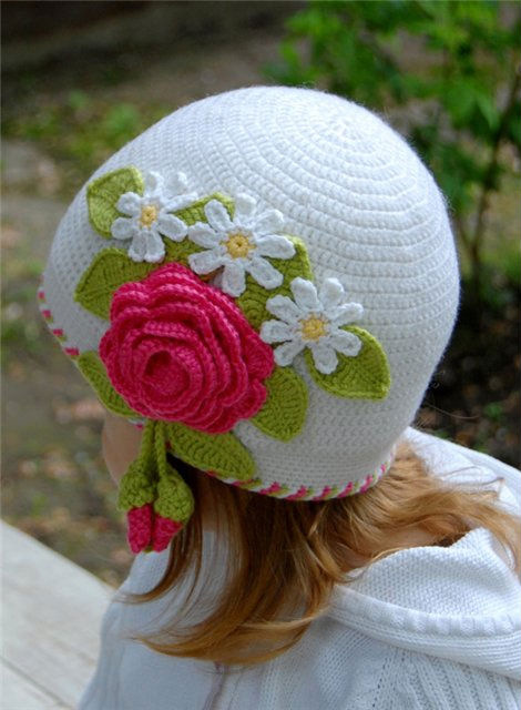 Fashion hats for kids crochet patterns craft handmade for Craft hats for kids