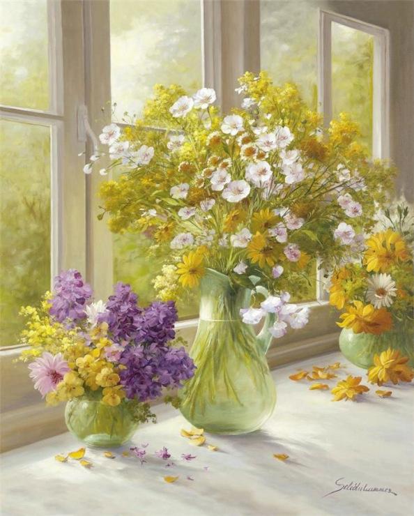 Фото художники натюрморты цветы картинки