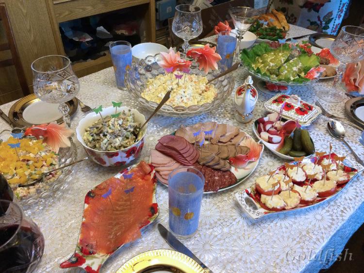 Кухня: Юбилейное пиршество Золотой рыбки