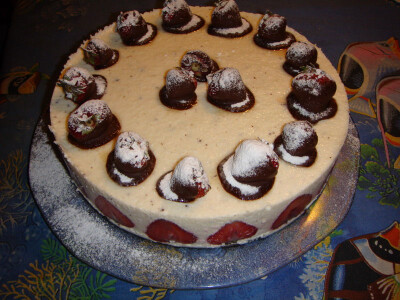 Кухня: Торт Шоколадная ягодка