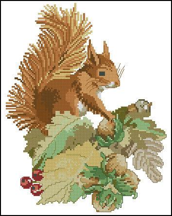 Cross Stitch - Схемы для вышивки /Животные/Олени.