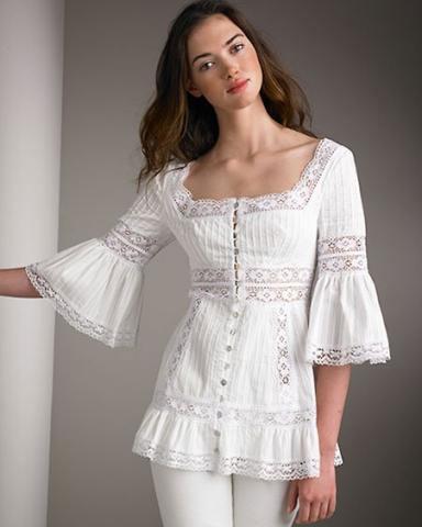 Гость: лето. фасоны блузок с коротким рукавом.