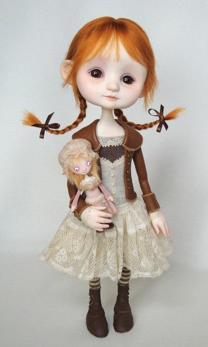 Куклы своими руками из глины