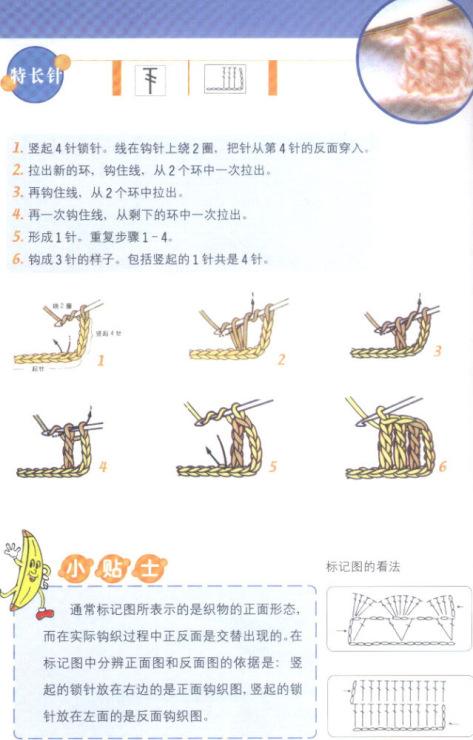японских журналах вязания