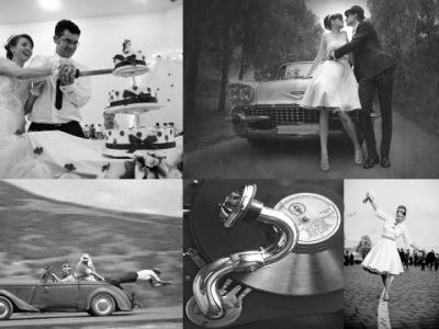 Сценарий свадьбы в стиле 60 х по