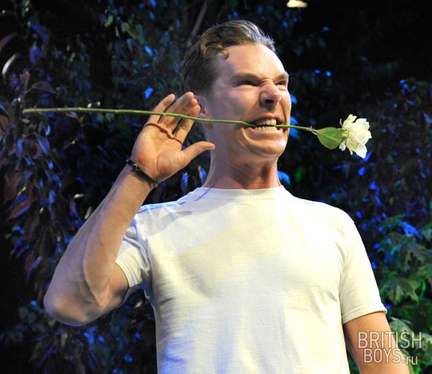 Бенедикт камбербэтч с цветами