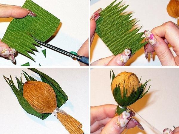 Как сделать букеты своими руками поэтапно фото