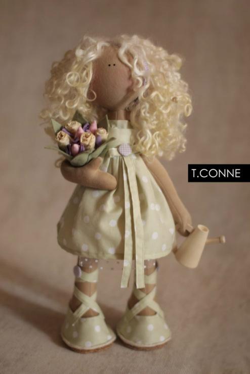 Волосы для кукол коннэ