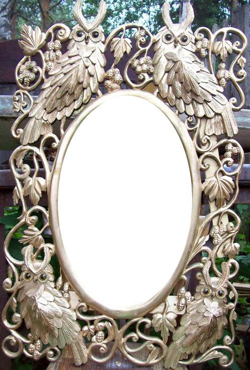 Зеркало ручное ручной работы