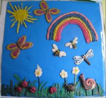 Летняя поделка в детский сад фото 68