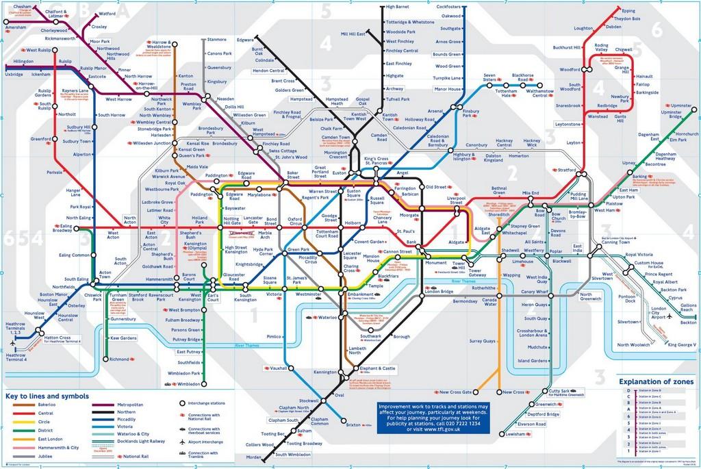 В Лондонском метрополитене