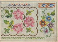 Схемы старых вышивок крестом 22