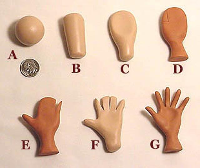 Как сделать руку из пластика