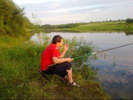 рыбалка на большой ельме