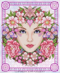Hello I am looking for Joan Elliot's Rose Goddess but not in .pat format.  I am looking for a good scan of it.